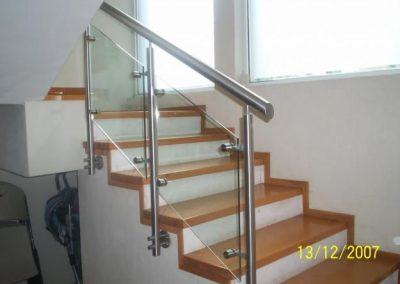 Baranda Vidrio Escalera 1