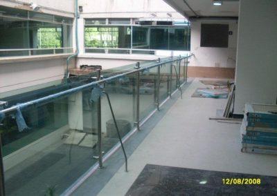 Baranda y vidrio recta2